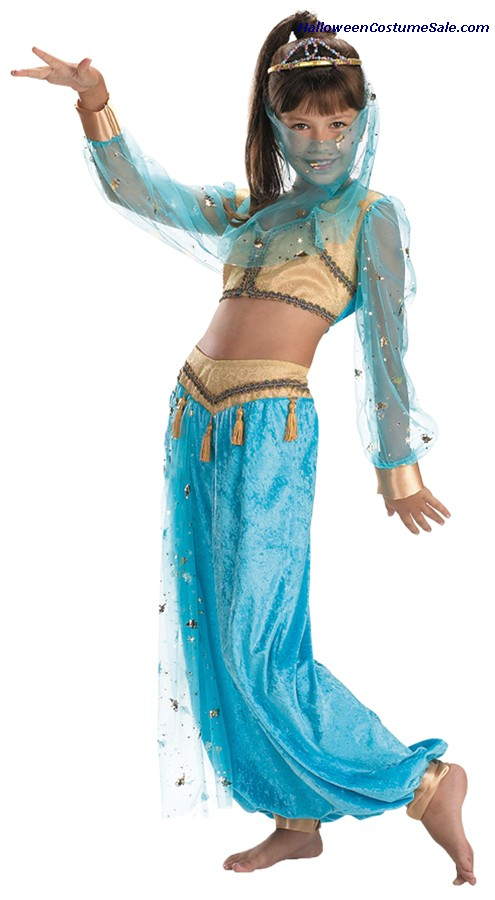 MYSTICAL GENIE CHILD COSTUME