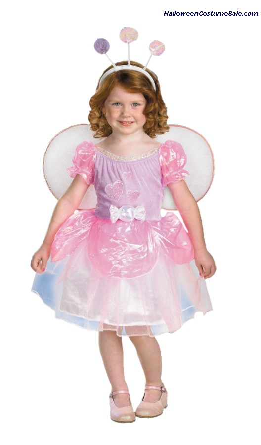 THE CANDY FAIRY CHILD LOLLI COSTUME