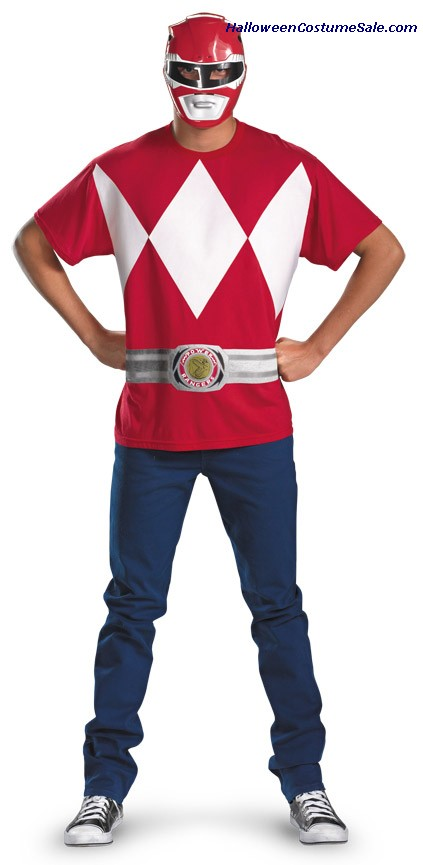 RED RANGER ALTERNATIVE COSTUME PLUS SIZE