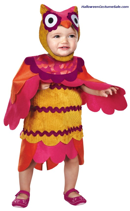 CUTE HOOT TODDLER COSTUME