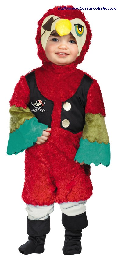 PARROT PIRATE  TODDLER COSTUME