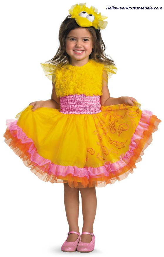 SESAME STREET BIG BIRD FRILLY CHILD COSTUME
