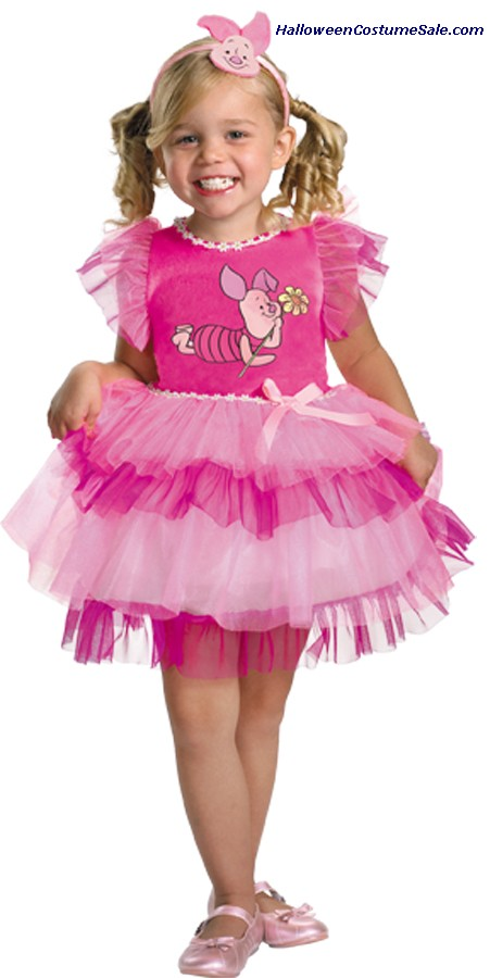 FRILLY PIGLET WINNIE POOH CHILD/TODDLER  COSTUME