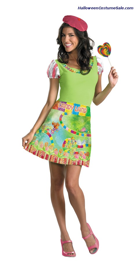 CANDYLAND ADULT COSTUME