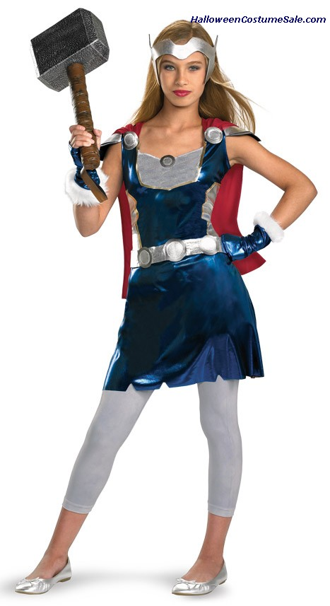 THOR GIRL CHILD/TEEN COSTUME