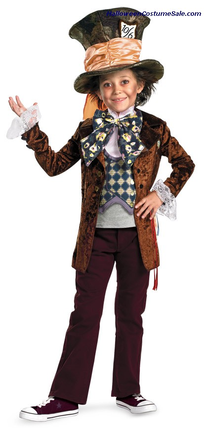 MAD HATTER DELUXE CHILD COSTUME