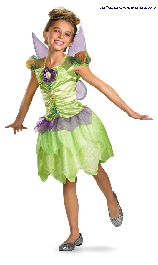 TINKER BELL RAINBOW CHILD COSTUME