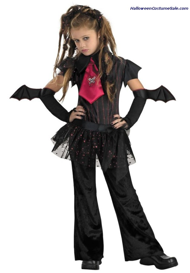 BAT CHICK CHILD COSTUME