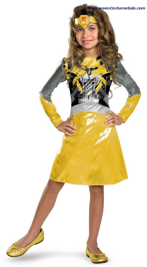 BUMBLE BEE GIRL CHILD COSTUME