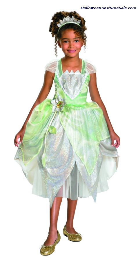 PRINCESS TIANA CHILD/TODDLER COSTUME