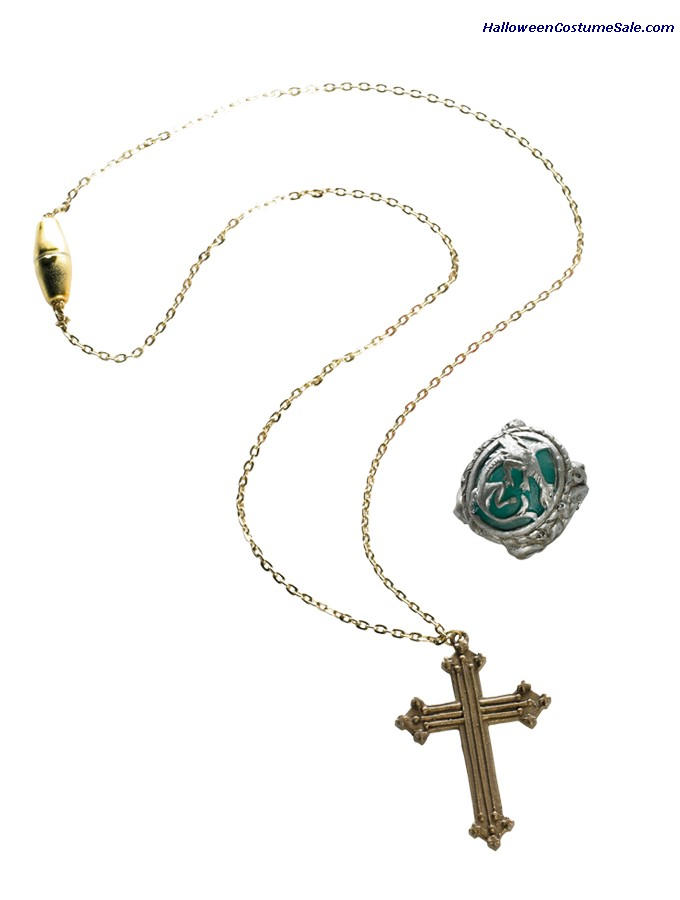 ANGELICA CROSS NECKLACE & RING