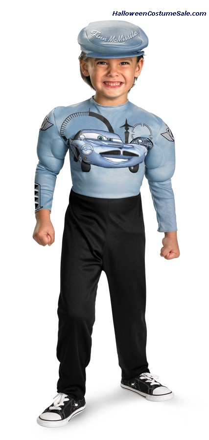 CARS 2 FINN MCMISSLE CHILD/TODDLER COSTUME