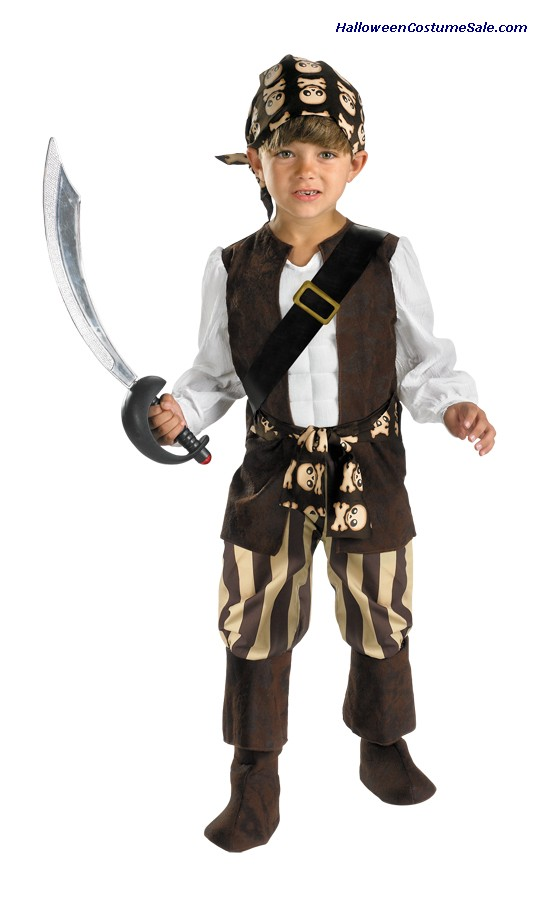 ROGUE PIRATE CHILD/TODDLER COSTUME