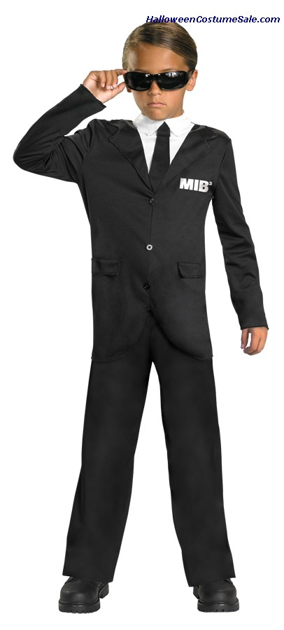 MEN IN BLACK CLASSIC CHILD COSTUME