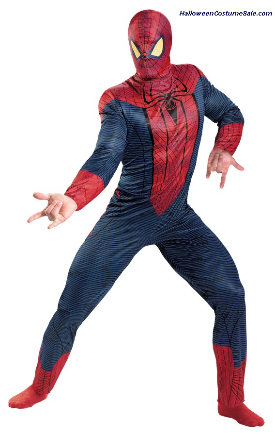 SPIDER-MAN MOVIE PLUS SIZE ADULT COSTUME
