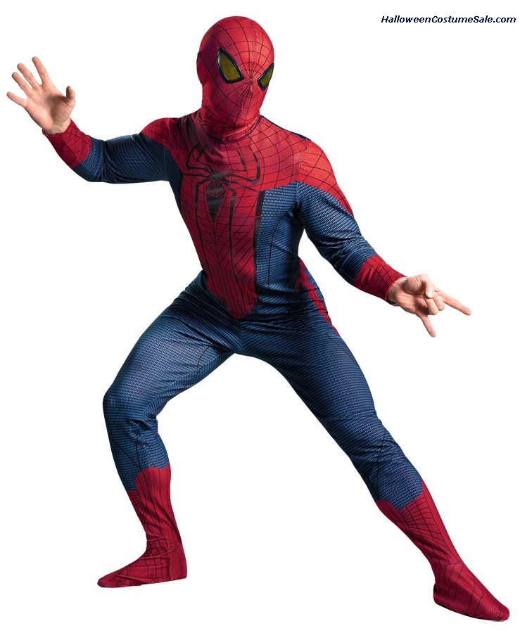 SPIDER-MAN MOVIE DELUXE PLUS SIZE ADULT COSTUME