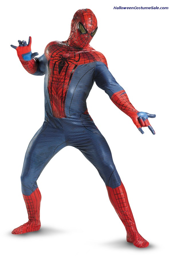 SPIDER-MAN MOVIE THEATRICAL  PLUS SIZE ADULT COSTUME