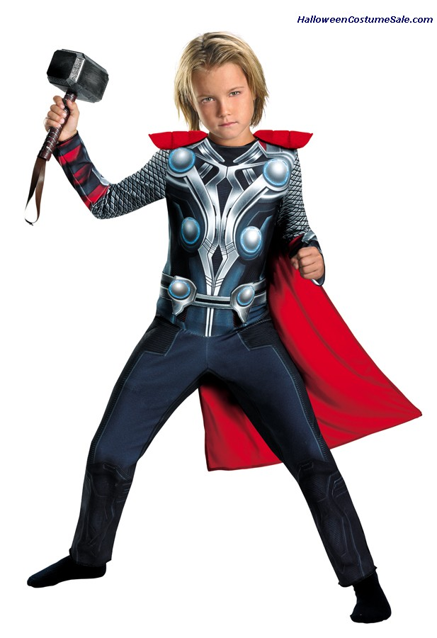 THOR AVENGERS CLASSIC CHILD/TODDLER COSTUME