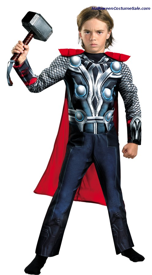 THOR AVENGERS CLASSIC MUSCLE CHILD/TODDLER COSTUME