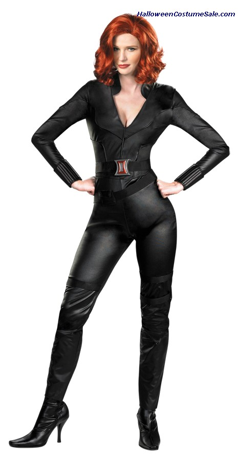 BLACK WIDOW AVENGER DELUXE ADULT COSTUME