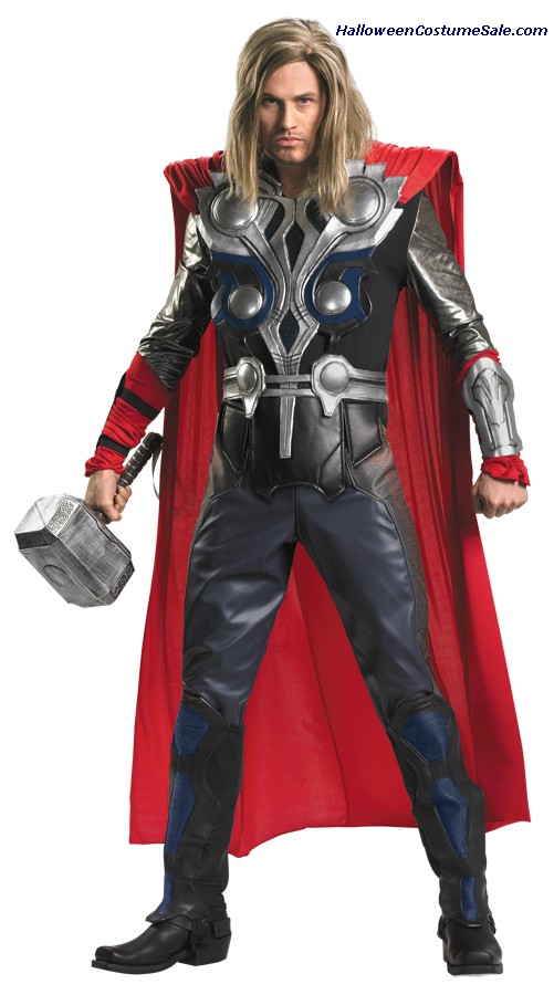 THOR AVENGERS THEATRICAL PLUS SIZE ADULT COSTUME