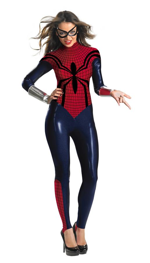 SPIDER-GIRL BODYSUIT ADULT COSTUME