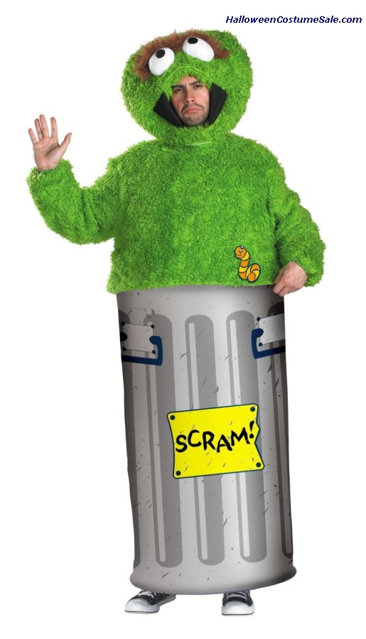 RETRO OSCAR GROUCH ADULT COSTUME