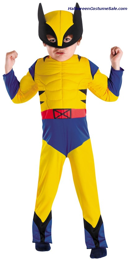 WOLVERINE MUSCLE TODDLER/CHILD COSTUME