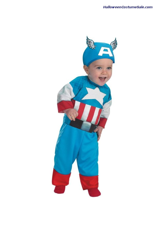 CAPTAIN OF AMERICA INFANT COSTUME