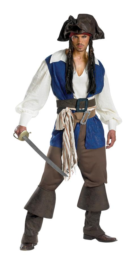 JACK SPARROW DELUXE PLUS SIZE ADULT COSTUME