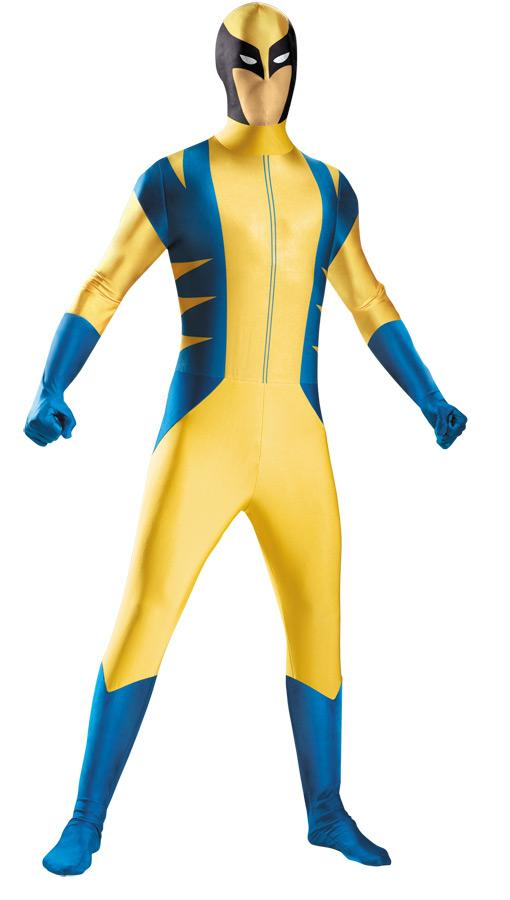 WOLVERINE BODYSUIT PLUS SIZE ADULT COSTUME