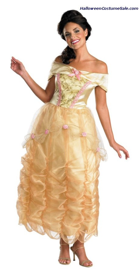 BELLE DELUXE ADULT COSTUME
