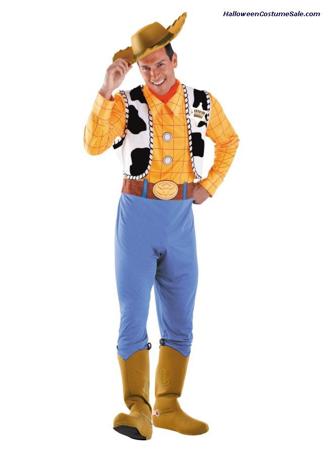 WOODY DELUXE PLUS SIZE COSTUME