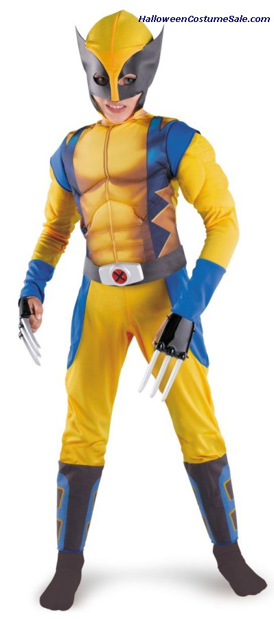 WOLVERINE CLASSIC MUSCLE CHILD COSTUME