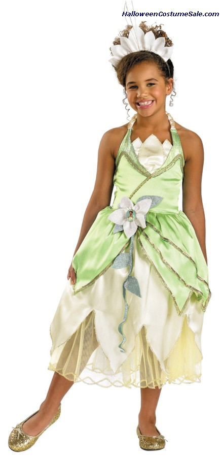 DELUXE PRINCESS TIANA CHILD COSTUME