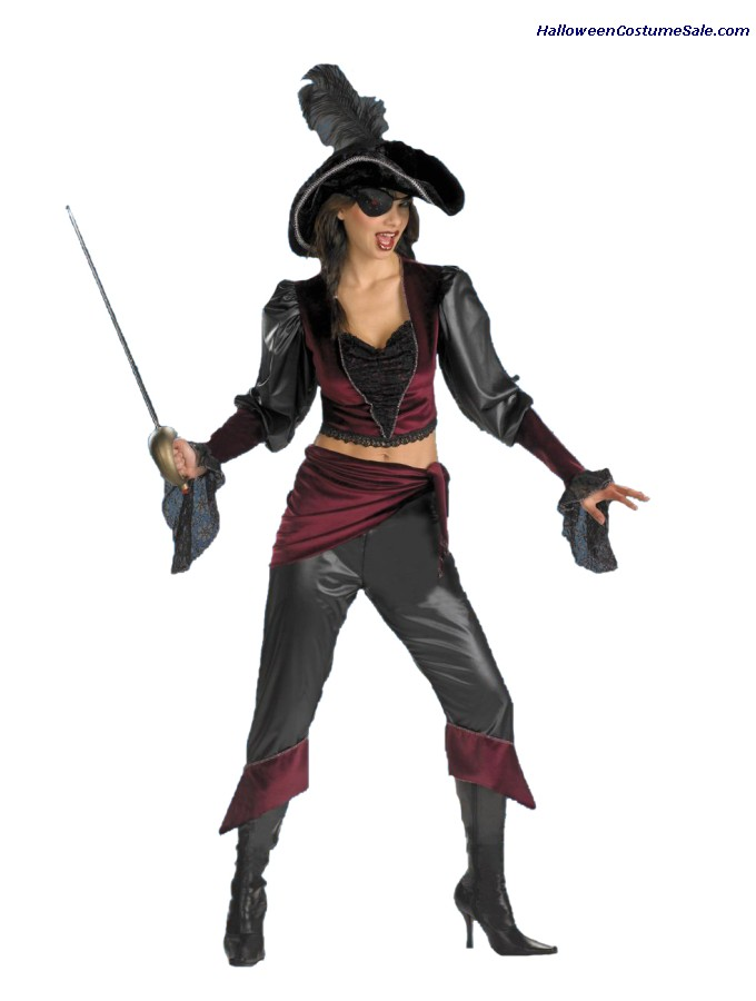 BUCCANEER BEAUTY ADULT COSTUME