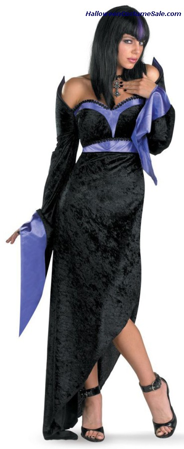 GORGEOUS GOTH ADULT COSTUME