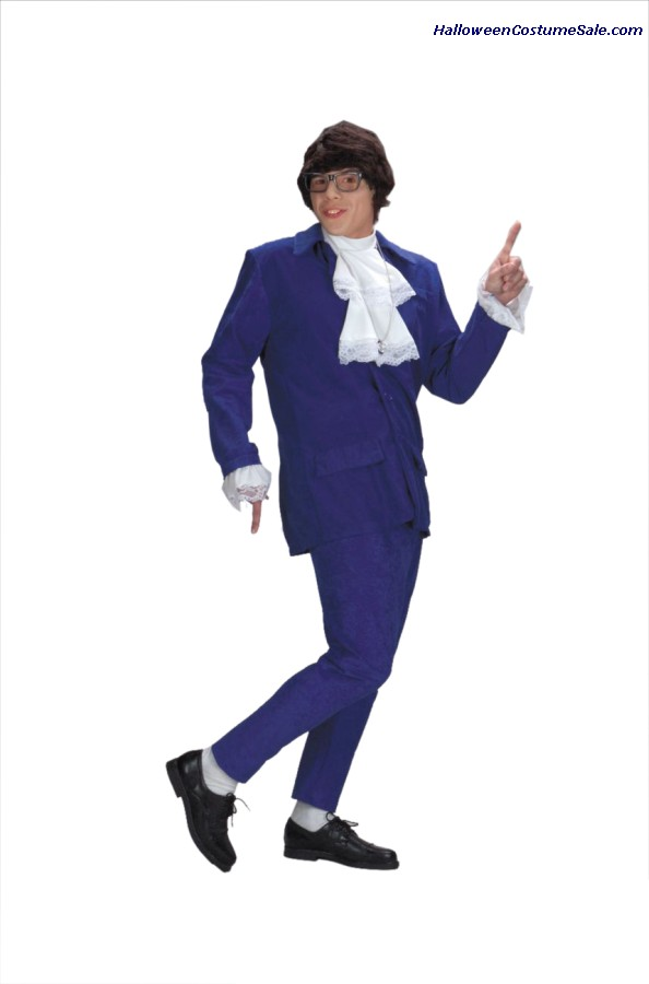 DELUXE AUSTIN POWERS ADULT COSTUME