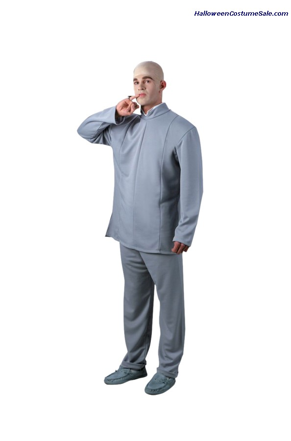 DELUXE DR. EVIL ADULT COSTUME