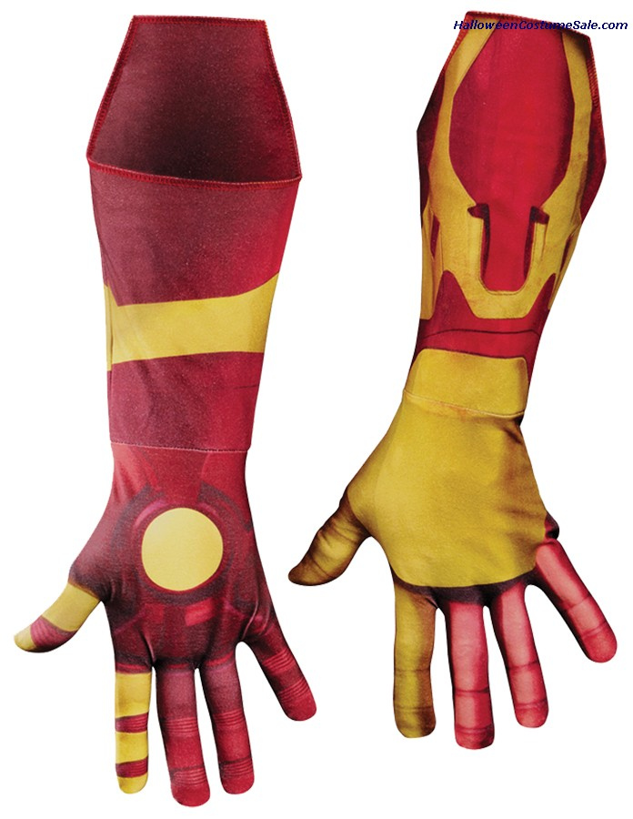 IRON MAN MARK 42 ADULT GLOVES