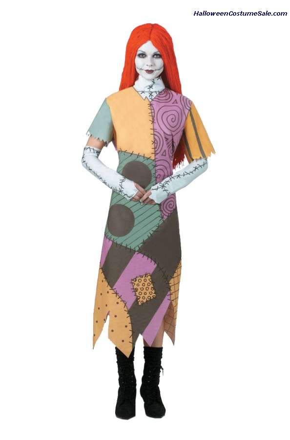 SALLY NIGHTMARE BEFORE XMAS ADULT COSTUME