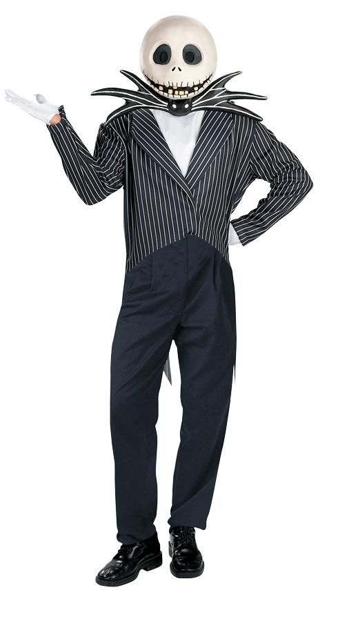 DELUXE JACK SKELLINGTON ADULT COSTUME