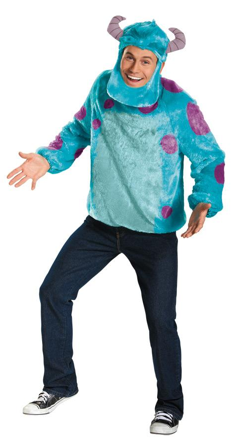 SULLEY DELUXE PLUS SIZE ADULT COSTUME