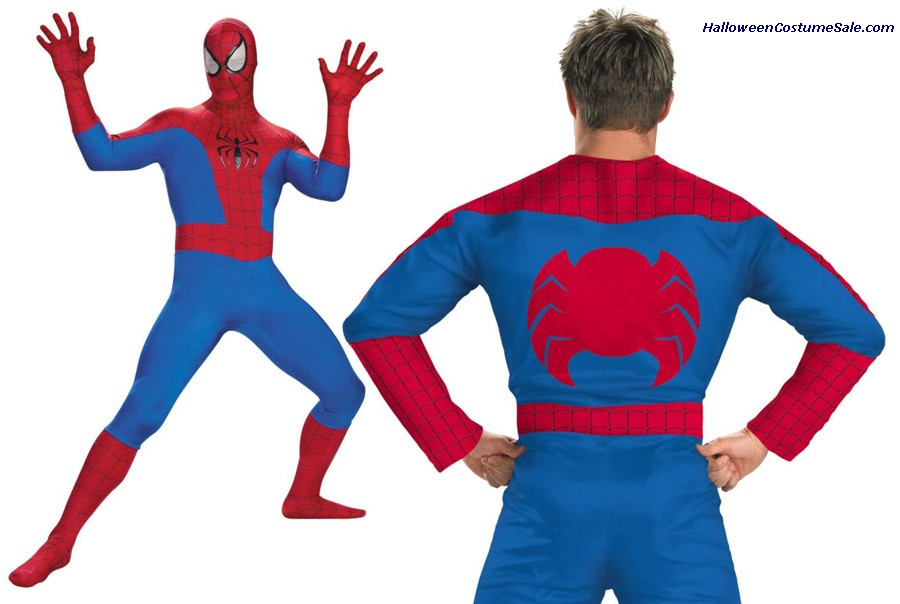 SPIDERMAN ADULT RENTAL QUALITY COSTUME