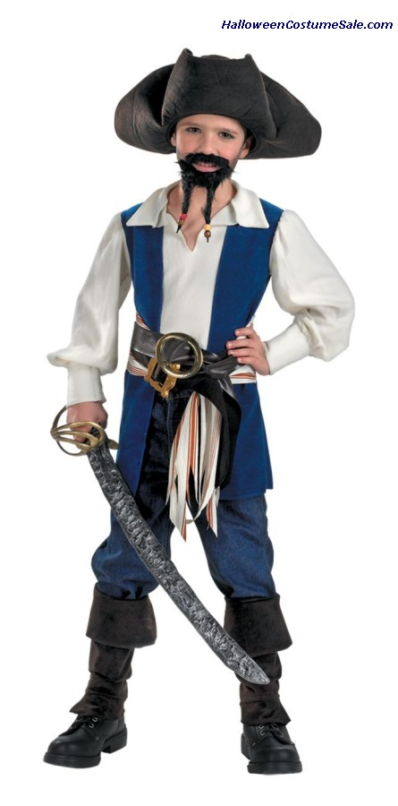 DISNEY CAPTAIN JACK CHILD COSTUME