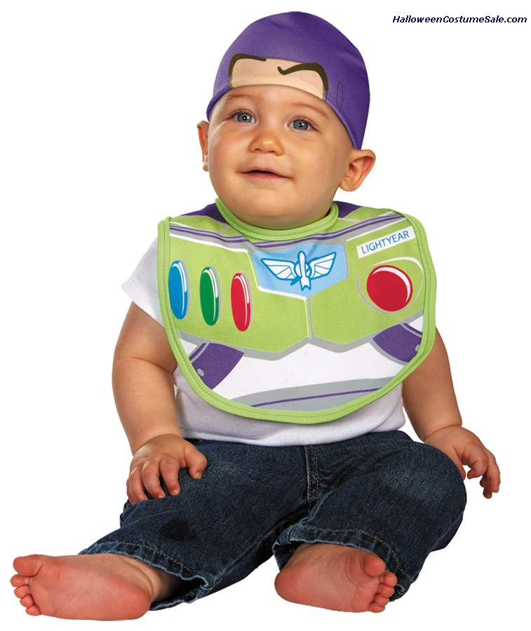 INFANT BUZZ BIB WITH HAT