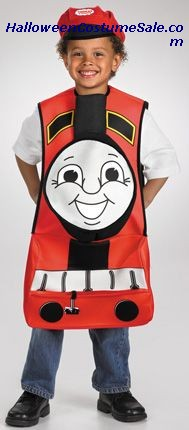 THOMAS THE TANK JAMES CHILD COSTUME