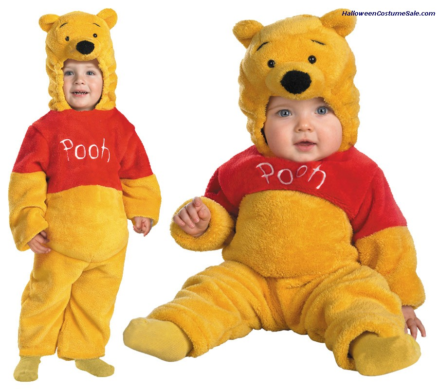 POOH DELUXE PLUSH TODDLER COSTUME