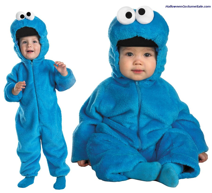 COOKIE MONSTER DELUXE TODDLER COSTUME