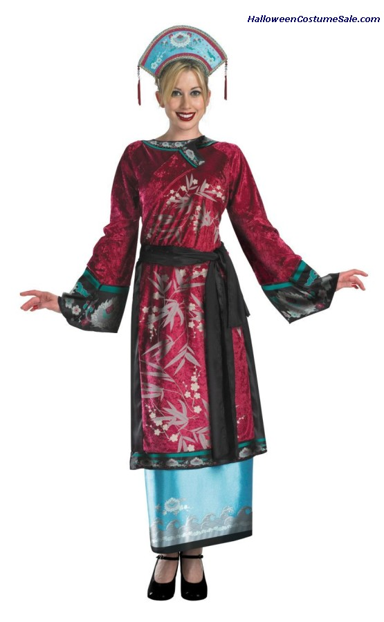 DELUXE ELIZABETH GEISHA CHILD/TEEN COSTUME